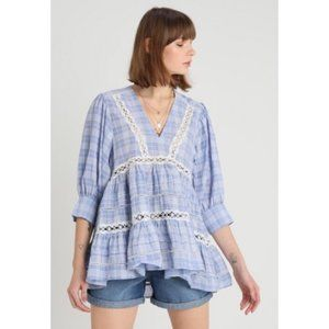 Free People | NWT Time Out Lace Tunic